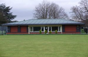 Canford Bowls Club clubhouse