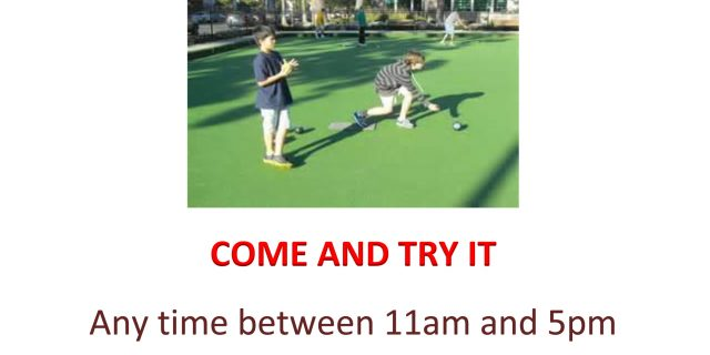 Canford Bowling Club Open Day